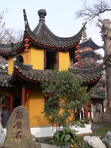 Buddhist temple in China