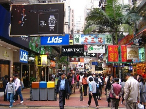 Shopping in Hong Kong