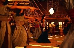 Bollywood set