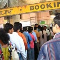 Buying train tickets in India